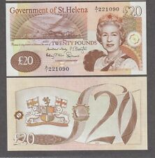More details for unc st. helena £20 twenty pounds banknote 2012 issue uk british #1