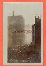More details for fire stokes croft bristol derhams boot & shoe factory 1906 rp pc  ae956