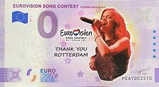 BILLET 0  EURO EUROVISION SONG CONTEST 3 COULEUR  2021  NUMERO DIVERS