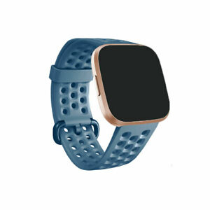 For Fitbit Versa 2 / Fitbit Versa Lite Silicone Strap Replacement Wristband Loop