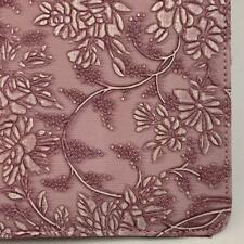 Purple Flowery Leather Smart Stand Folio Case Cover For Apple iPad 2 9.7 inch
