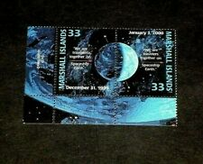 MARSHALL ISLANDS, 1999, SPACESHIP EARTH, SPACE EXPLORATION,PAIR, MH, NICE! LQQK!