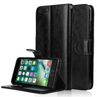 For Apple iPhone 8/7 Plus Luxury Flip Cover Wallet Card Leather Phone Case Stand