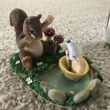 Fitz and Floyd Charming Tails I Miss You Already Squirrel and Snail 89/756