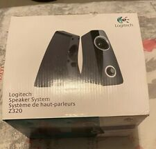 New Retail box  Logitech Compact Speaker System Z320