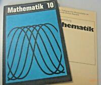Mathematik Klasse 10 Volk und Wissen DDR-Lehrbuch 1987+ Übungsheft Aufgabensamml