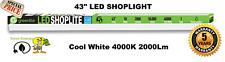 """(1) Pack 43"""" 18W 2000k LED GARAGE WORK SHOP BENCH LIGHT FIXTURE HANGING UTILITY"""