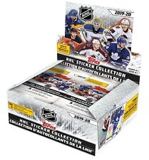 2019-20 Topps NHL Hockey Sticker Collection Box