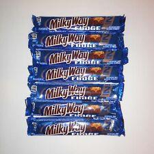 Lot of 7 New Milky Way Fudge 3oz each Discontinued Rare EXP 03/2020