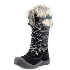 Muk Luks Gwen Tall Women US 6 Black Snow Boot NWOB  1019