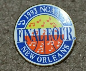 Vtg 1993 NCAA Final Four New Orleans Basketball Pin