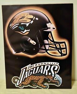 JACKSONVILLE JAGUARS Helmet Logo NFL Football 16x20 Poster