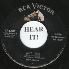 Eddy Arnold EARLY C&W 45 (RCA 6601) Casey Jones/You Were Mine for Awhile  VG+