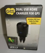 Scosche Dual USB Home Charger for GPS