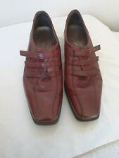Mens Ecco Quality Hybrid leather tan shoes Size UK 7 Euro 41  formal RRP  80.00