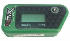 4MX Green Wireless Kart Engine Hour Meter to fit Rotax 125 Micro Max Evo