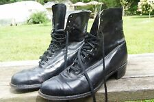 Vintage. Women's Shoes. Black. Size 5.5 D/A. Made in Usa. Used Good Condition.