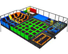 6,000 sqft Commercial Turnkey Trampoline Park Dodgeball Parkour Gym We Finance