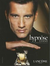 Celebs in ads LANCOME Hypnose Homme Clive Owen Print Ad # 64 5
