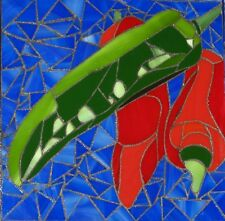 Mosaic Art Hot Chili's Hand Crafted Stained Glass