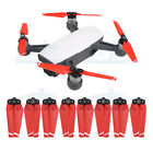 4 pairs 4730F Quick-Release Foldable Propellers Blades Red for DJI Spark Drone