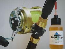 Liquid Bearings, BEST 100%-synthetic oil for Penn saltwater reels, READ THIS!