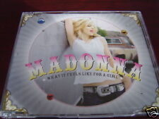 MADONNA WHAT IT FEELS LIKE FOR A GIRL IMPORT UK CD