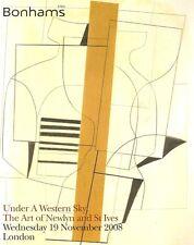 Bonhams Under A Western Sky / The Art of Newlyn & St. Ives Auction Catalog 2008