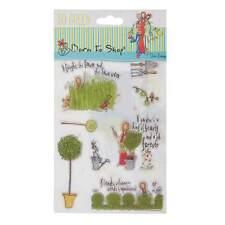 12.7x17.8cm Timbre Transparent - Go Vert - Jardin Beauté