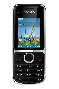 Nokia C2-01  !!NEU!!  Schwarz / 3,2 MP / Ohne Simlock / 12 Mon. Gewährleistung