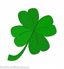 Four Leaf Clover Shamrocks 15 Machine Embroidery Designs on CD St Patrick's Day
