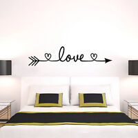 Love Removable Wall Stickers Art Vinyl Quote Decal Mural Home Bedroom Decor