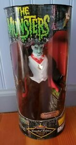 The Munsters Granpa Munster Doll Premier 1998 Limited Edition NEW NRFB 1/12000