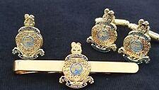 Royal Marines Militar Gemelos, Insignia, Clip de corbata militar Conjunto de Regalo
