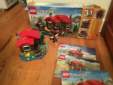 Lego Lakeside Lodge #31048 3 in 1 set 368 pieces complete