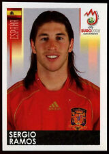 Sergio Ramos Spain #420 Euro 2008 (Brazilian) Sticker (C373)