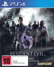 Resident Evil 6 PS4 UNRATED EDITION - BRAND NEW
