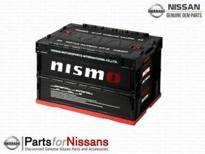 NISMO Folding Container Box Black 50L