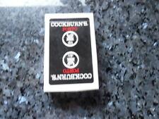 ancien jeu de carte publicitaire cockburn's porto