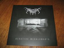 "FORGOTTEN TOMB ""Negative Megalomania"" LP leviathan shining"