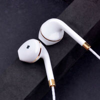 3.5mm & Mic Super Bass Music In-ear Stereo Headphone Headset Earphone Earbuds