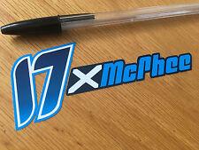 John McPhee Logotype Decal