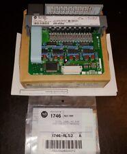 Allen-Bradley SLC 500 analog current input module CAT 1746-1G16/C NOS