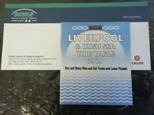 LAVER'S LIVERPOOL & IRISH SEA TIDE TABLE 2021,SUN & MOON RISE,LUNAR PHASES