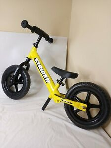 Strider 12 Yellow Sport Balance Bike Ages 18 Months to 5 Years