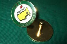 Stemmed US MASTERS 1997 Golf ball marker (Tiger's 1st win) FREE POSTAGE IN UK