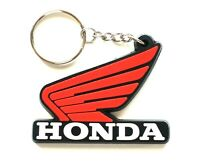New HONDA Wing Motorcycle Rubber Keychains Keyring Keyholder Keyring Key chains