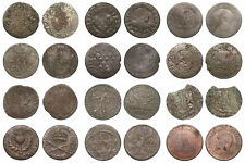 World - Interesting lot with 12 old coins