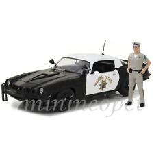 GREENLIGHT 13506 1979 CHEVY CAMARO Z28 1/18 CHP POLICE CAR with OFFICER FIGURE