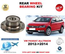 pour VW PASSAT toutes les pistes ROULEMENT DE ROUE ARRIÈRE 2012- >2014 Gauche ou